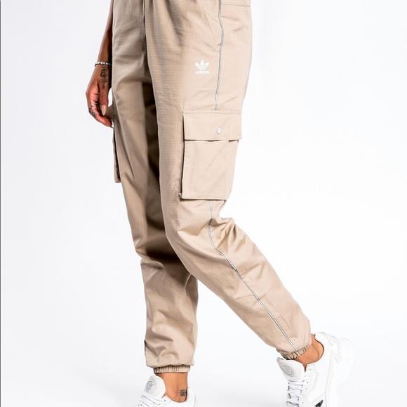 Adidas originals cargo track pants reflective tech